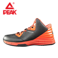 PEAK SPORT Men Basketball Shoes Medium Cut Athletic Training Sneaker Breathable Bas Basketball Rubber Outsole Ankle Boots