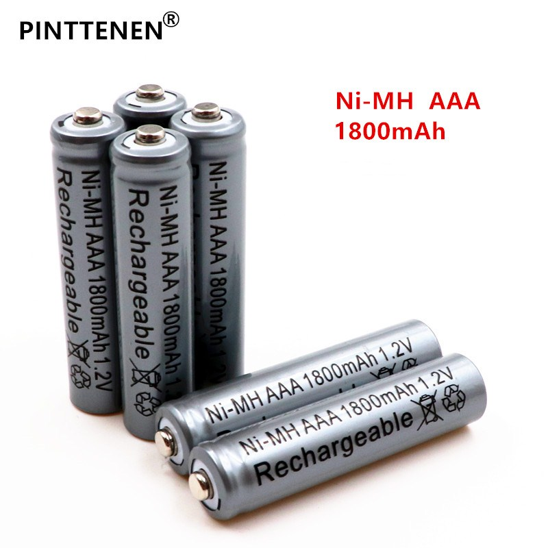 20PCS New PINTTENEN AAA battery 1800 mAh Rechargeable battery NI-MH 1.2 V AAA battery for Clocks, mice, computers, toys so on