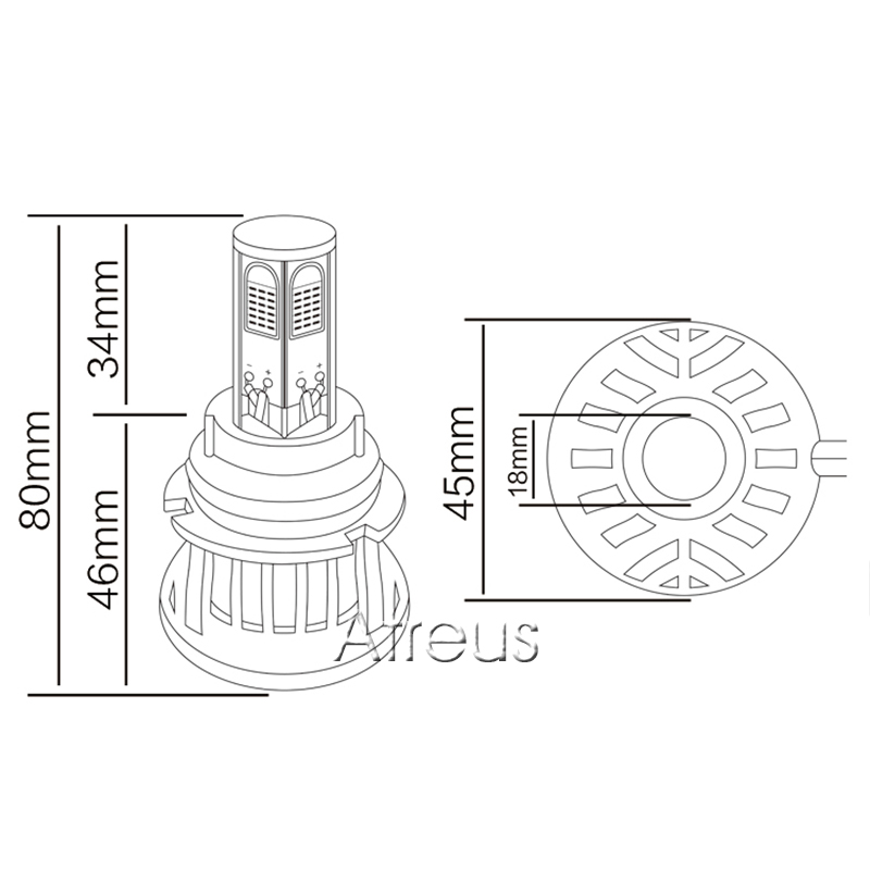 H7 Halogen Headlight Bulbs