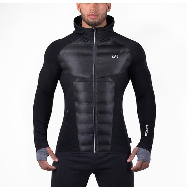 2016 Men Parkas And Jackets Coats Hooded Jackets Brand Clothing Size M/L/XL/XXL/XXXL