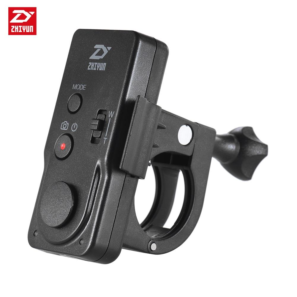Zhi yun Zhiyun ZWB02 télécommande sans fil noire pour grue/Crane2/CraneM/lisse 3/lisse cardan d'axe tenu dans la main d'appareil photo-in Accessoires cardan from Electronique    1