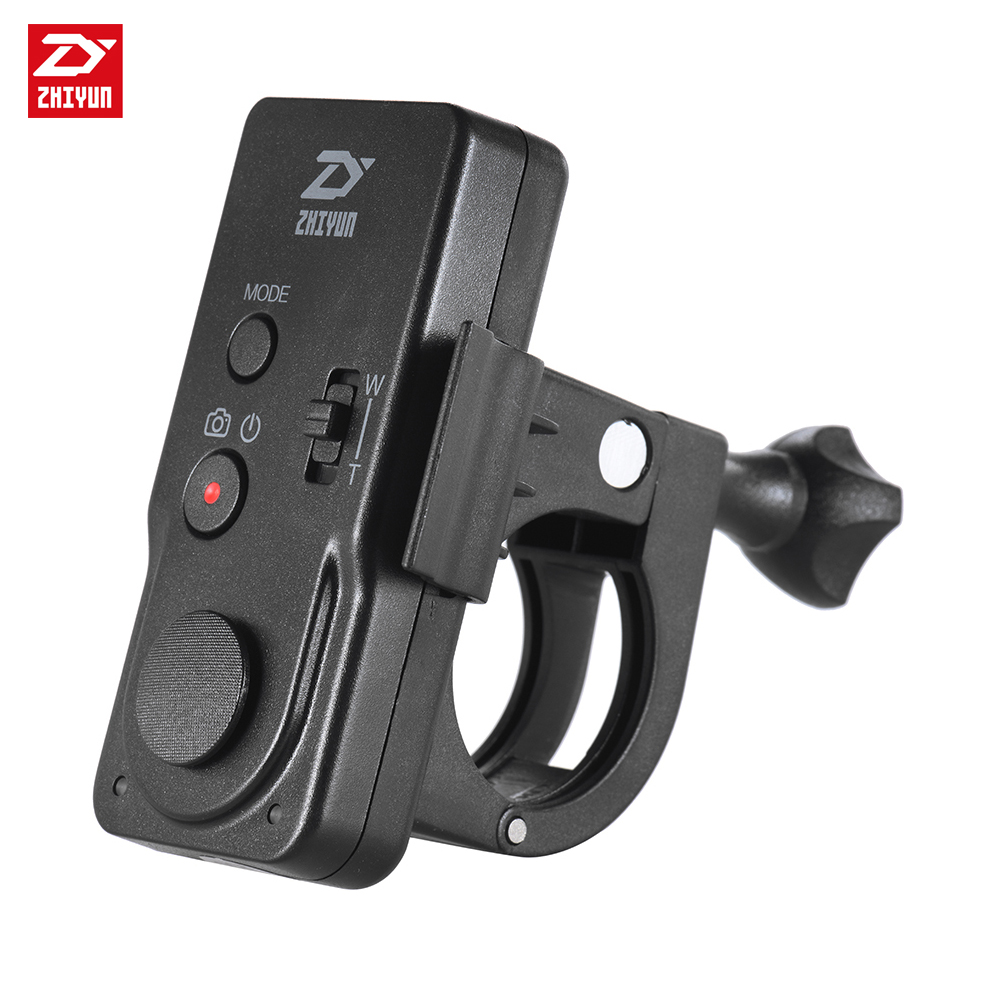 zhi yun Zhiyun ZWB02 Black Remote Wireless Controller for Crane/Crane2/CraneM/Smooth3/SmoothQ Camera Handheld axis Gimbal цена 2017