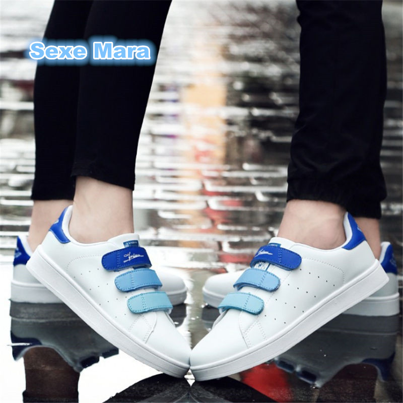 2017 size 35-46 Lovers Flat shoes Men fashion Superstar shoes Unisex Wild color white casual shoes tenis feminino zapatos hombre шкаф для одежды мокко 33 06