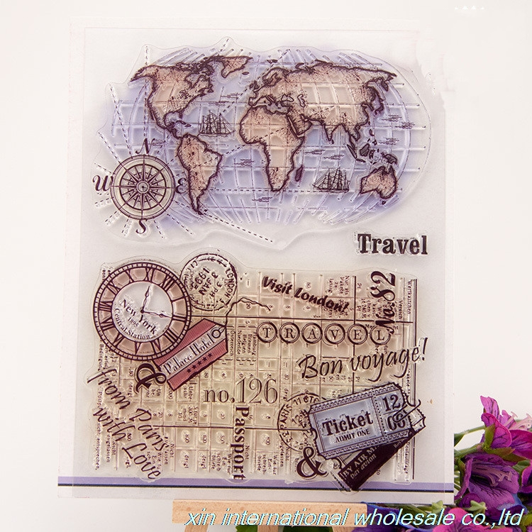 embossing folders encre scrapbooking ACRYLIC VINTAGE clear stamps FOR PHOTO SCRAPBOOKING stamp clear stamps for scrapbooking scrapbooking stamp diy size 14cm 18cm acrylic vintage for photo scrapbooking stamp clear stamps for scrapbooking clear stamps 04