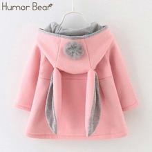 Humor Bear Baby Girl Clothes 2019 Winter Baby Girls Princess