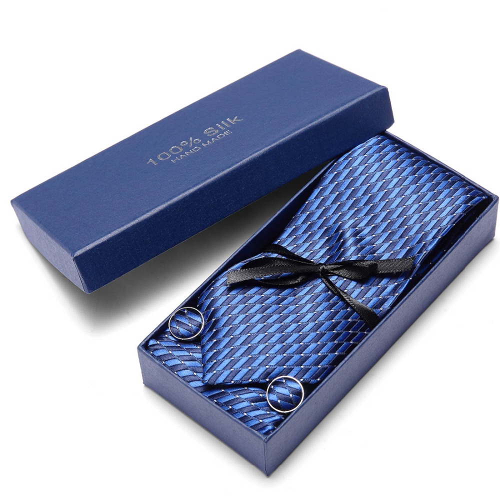 Paisley Check Dot 100 Silk Wedding Jacquard Woven Men Classic Man 39 s Tie Necktie extra long size 145 7 5cm gift box packing in Men 39 s Ties amp Handkerchiefs from Apparel Accessories