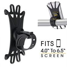 Велосипедный держатель для мобильного телефона, силиконовый держатель для Руля Мотоцикла, крепление для велосипеда 360, держатель для телефона для iPhone, Xiaomi, gps устройство