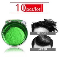Sevich 10pcs/lot Hair Cream Product Hair Pomade For Styling Salon Hair Holder Professional Hair Wax Pomade Long lasting Fluffy