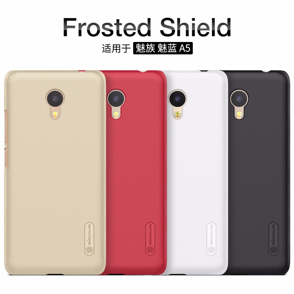 Meizu A5 / Meizu M5C case cover NILLKIN Super Frosted Shield matte hard back cover case with free screen protector