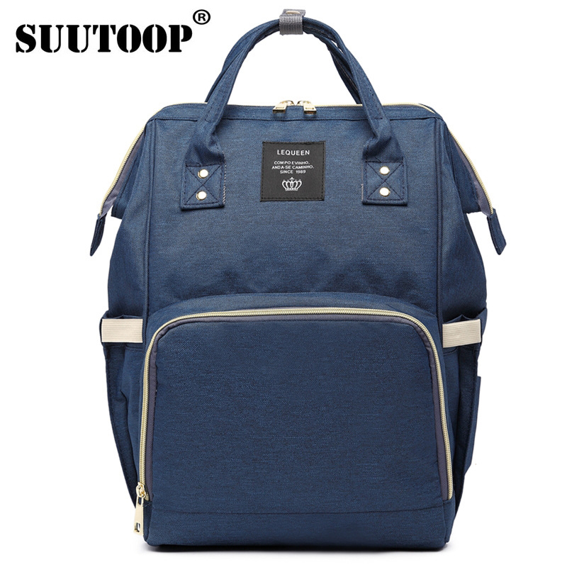 SUUTOOP 2018 Fashion Mummy Maternity Backpacks Brand Large Capacity Baby Bag Travel Backpack Designer Nursing For Mom Babe BagsSUUTOOP 2018 Fashion Mummy Maternity Backpacks Brand Large Capacity Baby Bag Travel Backpack Designer Nursing For Mom Babe Bags