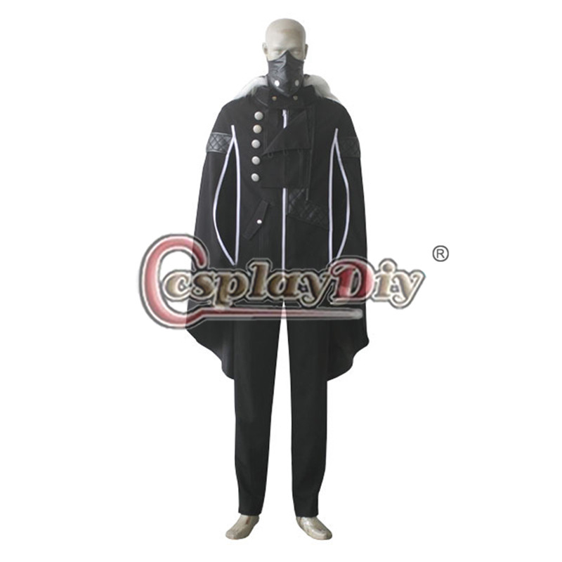 Cosplaydiy Tokyo Ghoul Ayato Kirishima Cosplay Costume Adult Men Halloween Outfit Custom Made D0626