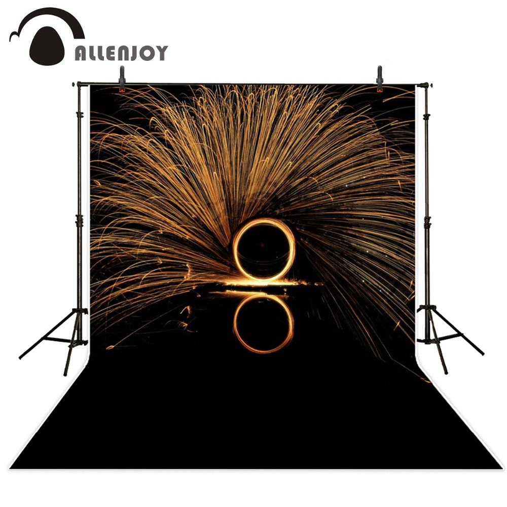 Allenjoy 10ftx6.5ft Fireworks Photography Backdrop black night romantic wedding background for photography studio without stand allenjoy 10ftx6 5ft fireworks photography backdrop black night romantic wedding background for photography studio without stand