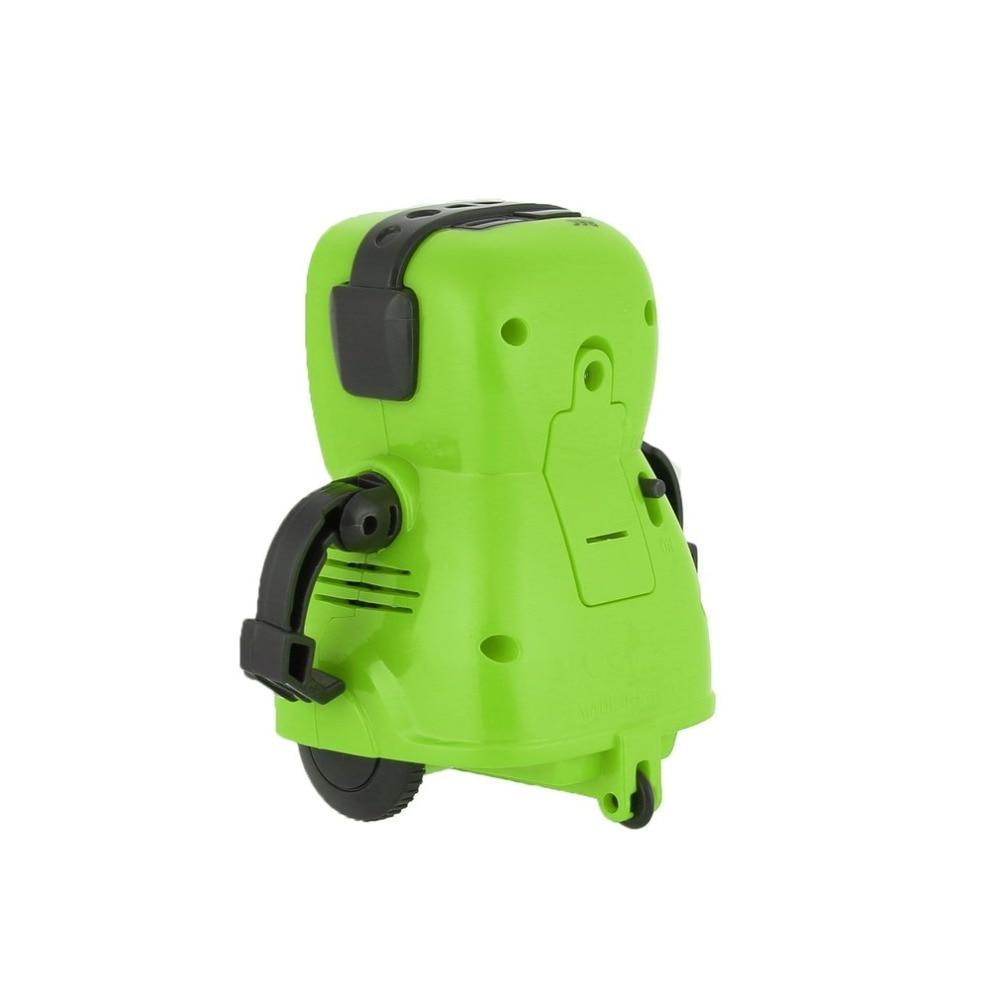 DDG-3 DDG-2  Intelligent Smart Mini Pocket Voice Recording RC Robot Recorder Freely Wheeling 360 Rotation Arm Toys for Kids Gift 7