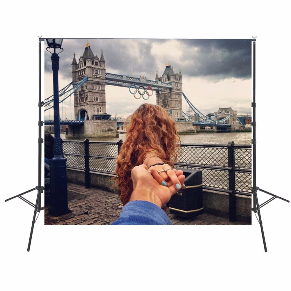 Wedding Photo Backdrops Vinyl Backdrops For Photography London Bridge Backgrounds Photocall Backdrops Camera Fotografica 300cm 200cm about 10ft 6 5ft backgrounds camera photography photo camera photography backdrops photo lk 1475