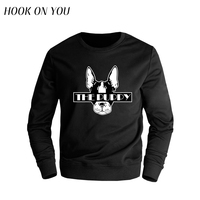2017 Fashion New Men Clothes Cute The Puppy Printing O Neck Hoodies Casual Trendy Design Sweatshirt
