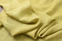 Jacquard plaid ramie fabric linen fabric ginger linen ramie fabric 1.4 meters wide special clearance linen