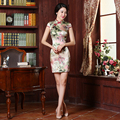 Hot Sale Women Qipao Dresses Chinese Traditional Cheongsam Female Eastern Style Clothes Women Evening Wedding Qipao Dress Summer
