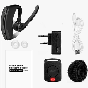 Image 5 - Walkie Talkie Drahtlose Ohrhörer Walkie Talkie Bluetooth Headset Zwei Weg Radio Drahtlose Kopfhörer Für Motorola Baofeng Kenwood HYT