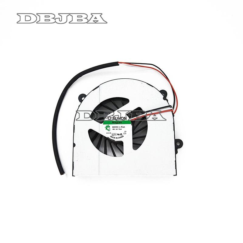 Laptop Cooling Fan For Clevo W150 W150ER W350 W370ET K590S K660E W370 W370SK Notebook AB7905HX-DE3 6-23-AW15E-010 6-23-AW15E-011