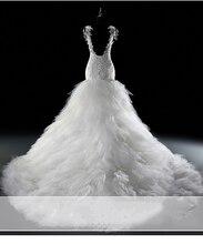 Vestido de novia 2017 Vintage Luxury Lace Wedding Dress Sheath Bridal Gown