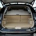 Tapetes de! Esteiras tronco carro especial para Nissan x-trail bagagem de couro durável impermeável tapetes para X trail