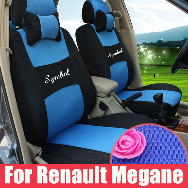 Custom Fit Cover Seats For Renault Megane Car Seat Set Sandwich Covers Supports