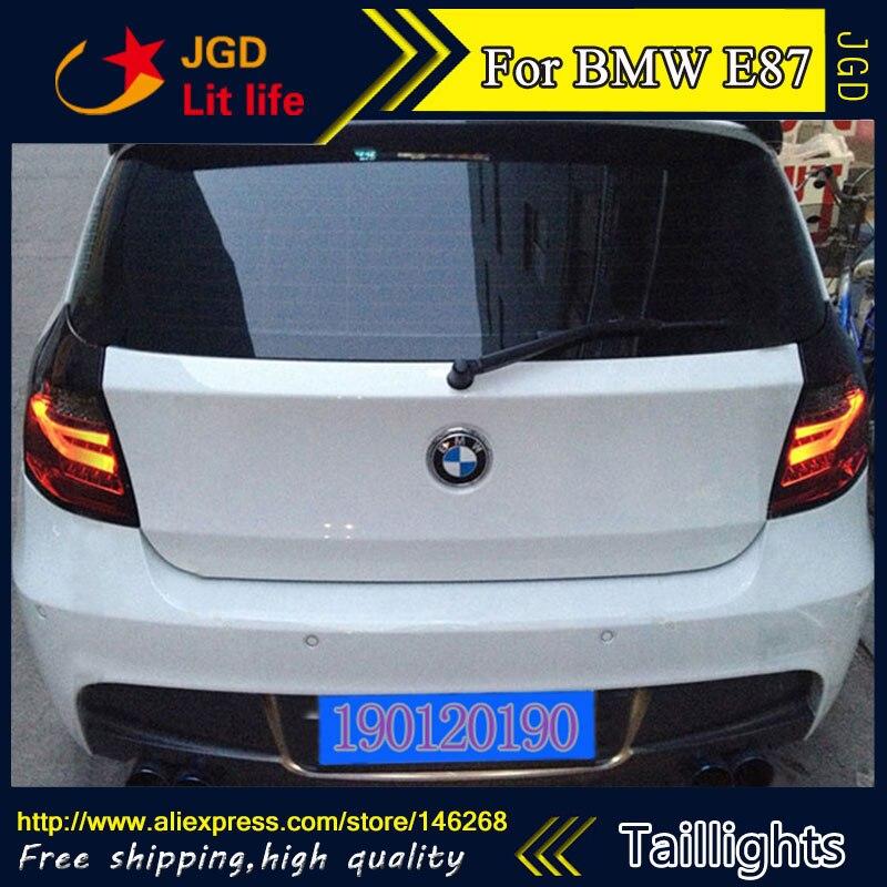 Feux arrière pour BMW E87 116i 118i 120i 123i 2004-2011 LED feu arrière feu arrière coffre couvercle de lampe drl + signal + frein + marche arrière