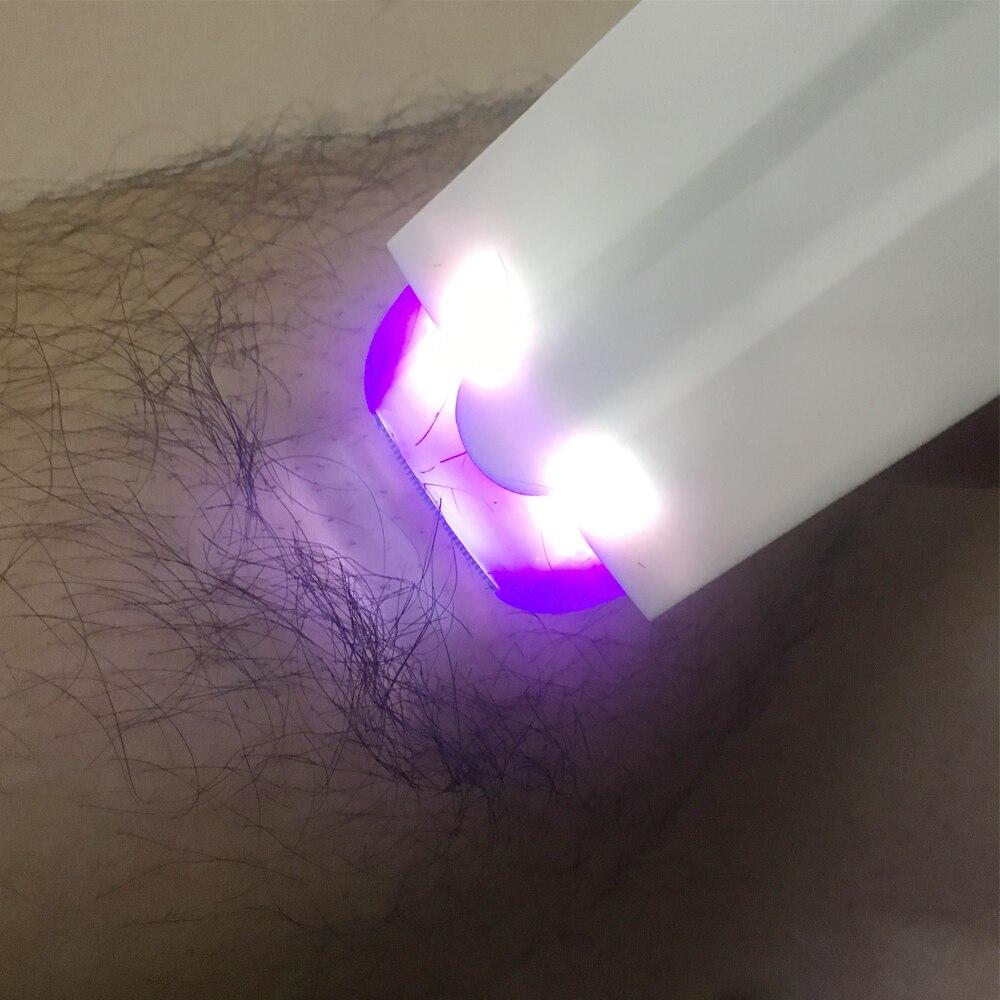 Photoepilator Depiladora Facial Laser Hair Removal Epilator Women Epilator Bikini Women Shaver USB Rechargeable Shaver