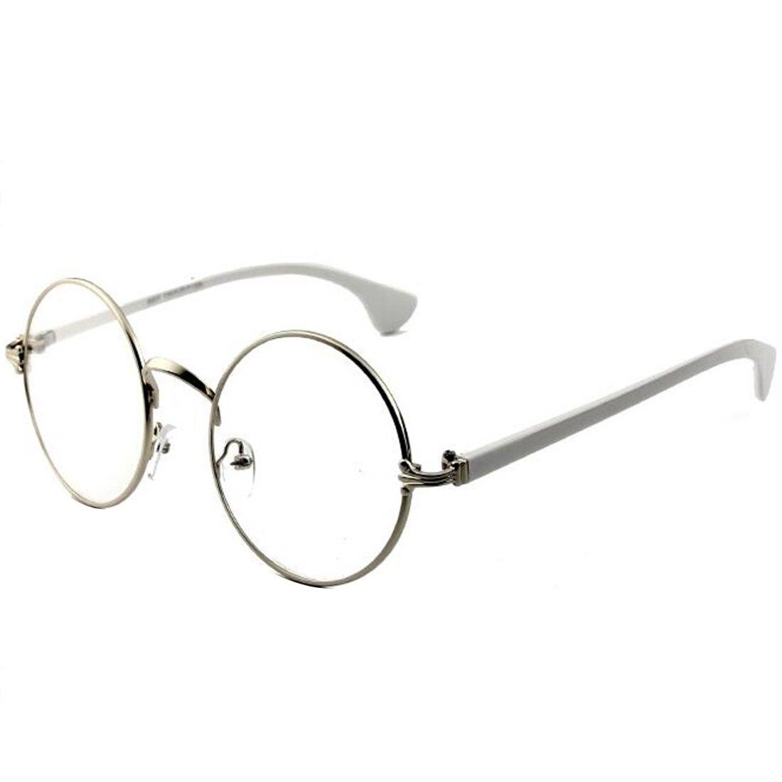 2019 New High quality spring mirror leg Retro Round Glasses Frame Art Fine Flat Mirror Super Light Glasses for Men and Women
