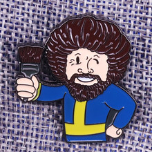 Bob Ross Pin(China)