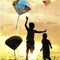 5 ШТ. Дети Треугольник Игрушка Стороны Бросали Парашют Кайт Аутдор Игрушки Игры Игры Для Детей Family Game Параплан кайт Multi цвет