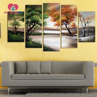 Modular Wall Paintings Diamond Embroidery Landscapes Painting Triptych Diamond Mosaic Patterns Cross Stitch Diamond Kraft Drill