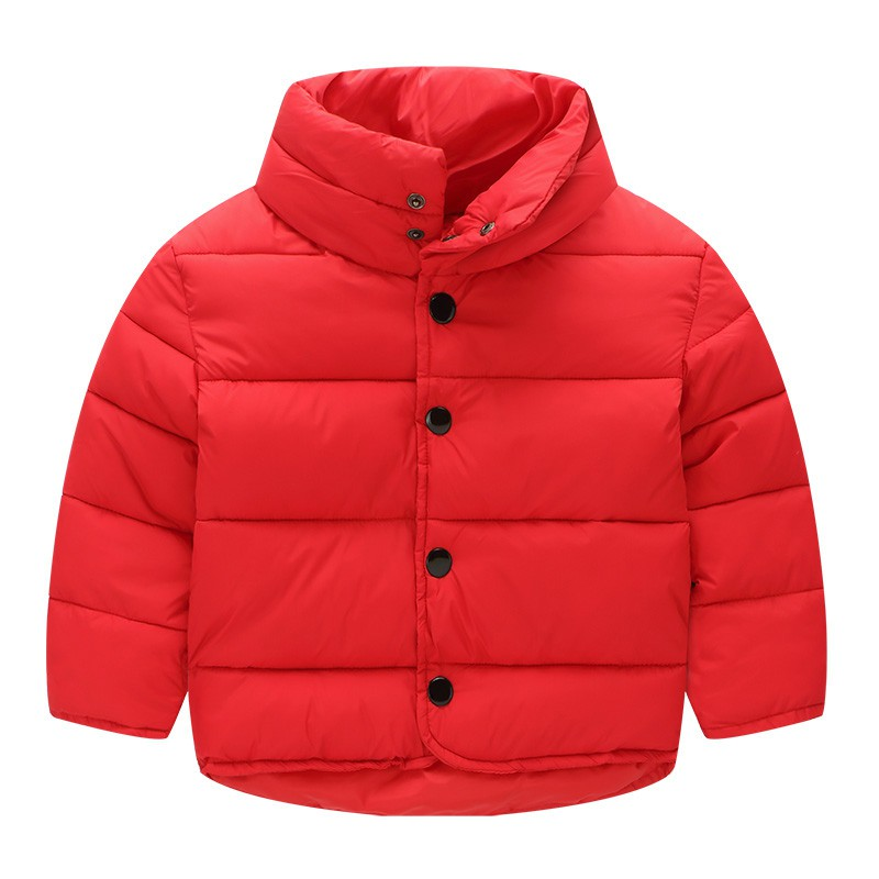 2017 Winter Kids Outerwear&Coats Thicken Jackets Coat Kids Clothes Children's Clothing Baby Boys And Girls  Warm Coat 2-7Y New 2017 winter baby coat kids warm cotton outerwear coats baby clothes infants children outdoors sleeping bag zl910