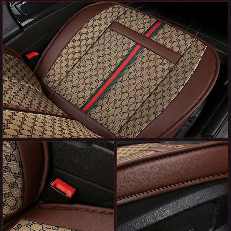 Luxury Car Seat Cover Covers protector Universal auto cushion for mitsubishi colt evolution galant grandis l200 lancer 9 10 x ix in Automobiles Seat Covers from Automobiles Motorcycles