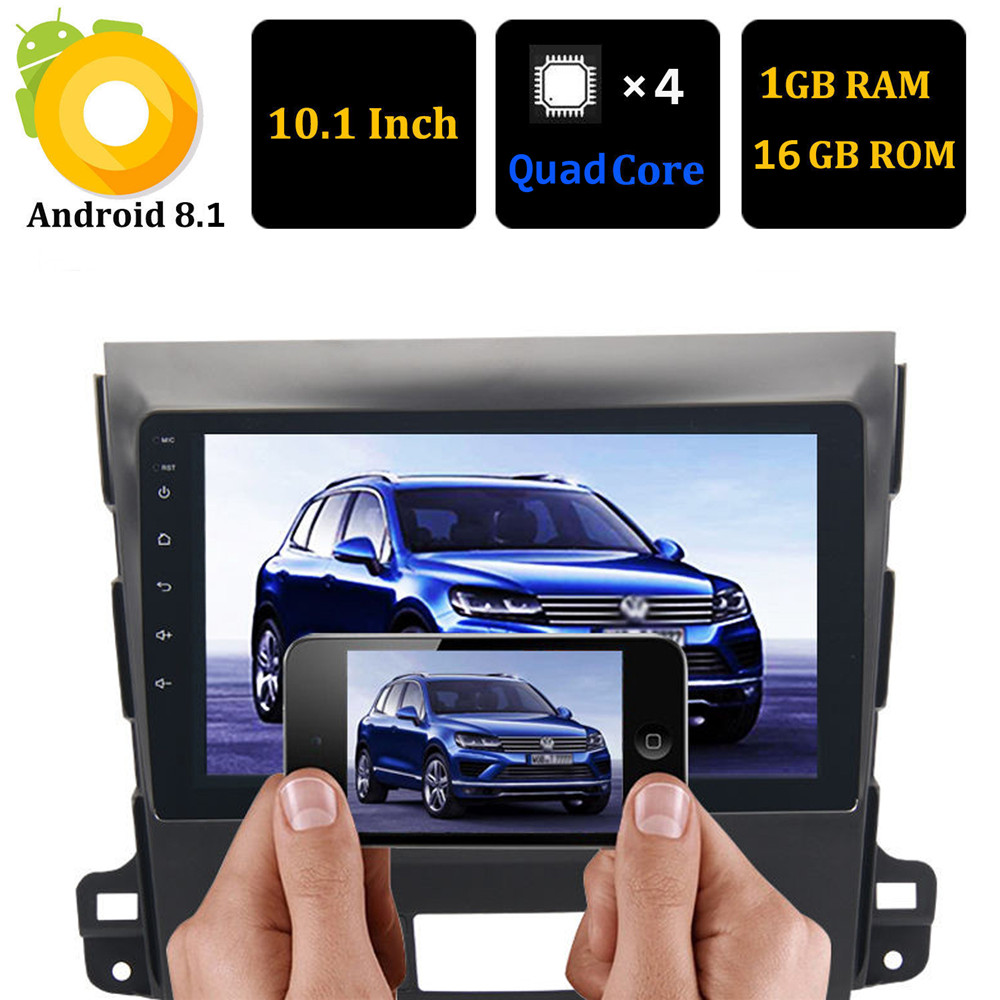 Android 8.1 7inch Tochscreen Car Radio Multimedia Player For Mitsubishi Outlander 2007 - 2011 Car GPS Navigation Audio Head Unit