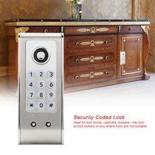 Zinc Alloy Code Combination Cabinet Lock Numberal Door Digital Lock Keyless Password Security Lock zinc alloy smart door lock home waterproof intelligent keyless digital electronic password keypad number cabinet door code locks