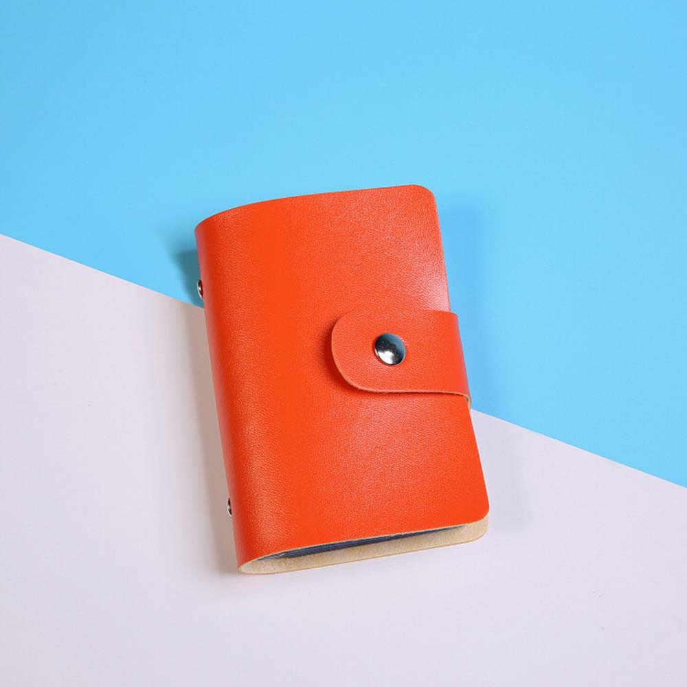 Haute qualité hommes portefeuille en cuir cartes de visite porte-carte de crédit portefeuille portefeuille carte de visite paquet femmes sacs à main populaires