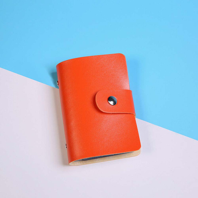 High Quality Men's Wallet Leather Visiting Cards Credit Card Holder Case Wallet Business Card Packag