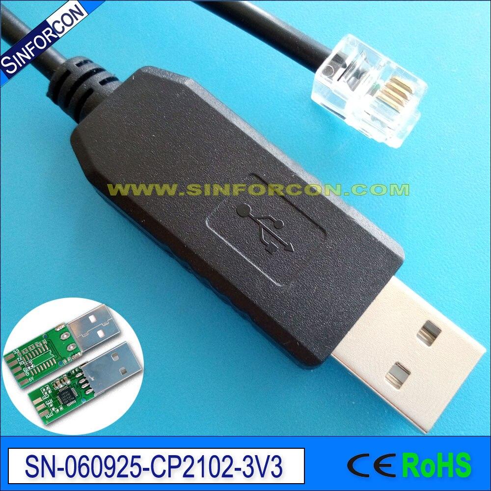Android Mac Win10 Win8 CP2102 usb uart ttl naar rj45 rj11 rj12 rj25 - Computer kabels en connectoren - Foto 4