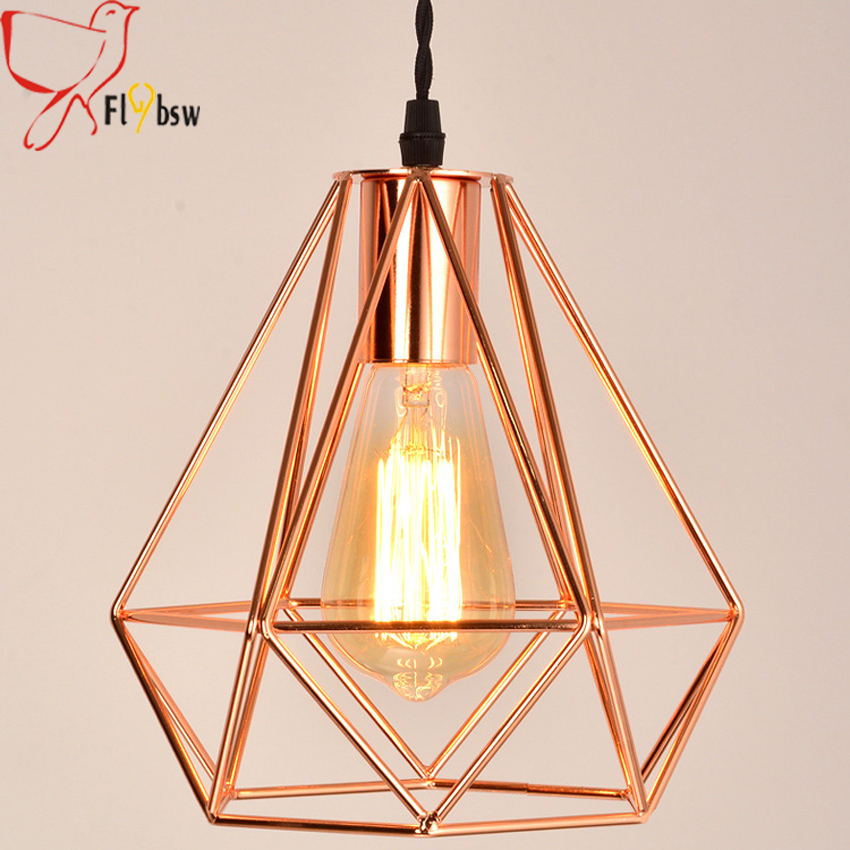 Aliexpress.com : Buy New modern plating metal cage pendant ...