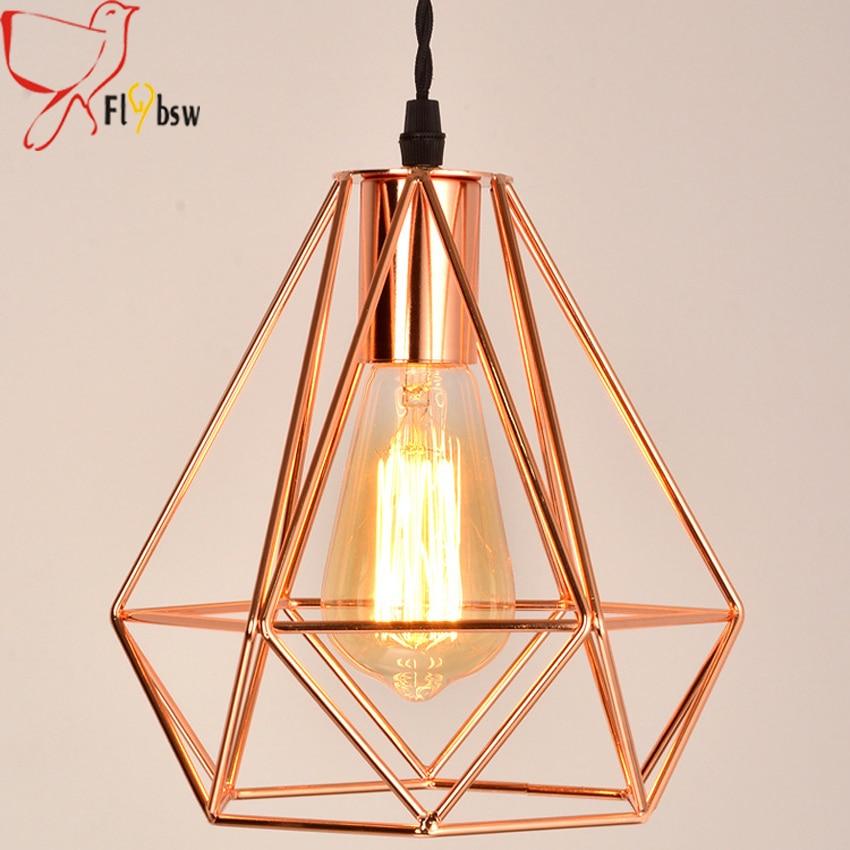 Aliexpress.com : Buy New modern plating metal cage pendant ...
