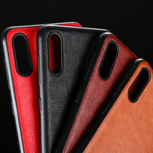 case for samsung galaxy a10 a30 a50 a40 coque luxury Vintage Leather skin Slot cover funda capa