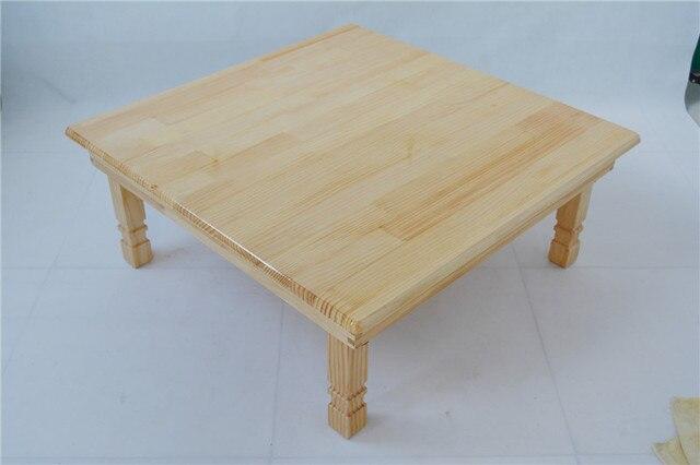 aliexpress.com : acquista in legno di pino massiccio pieghevole ... - Soggiorno Quadrato 2