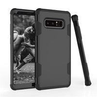 3 In 1 Hybrid Armor Case Cover For Samsung Galaxy S8 Plus Note 8 Heavy Duty