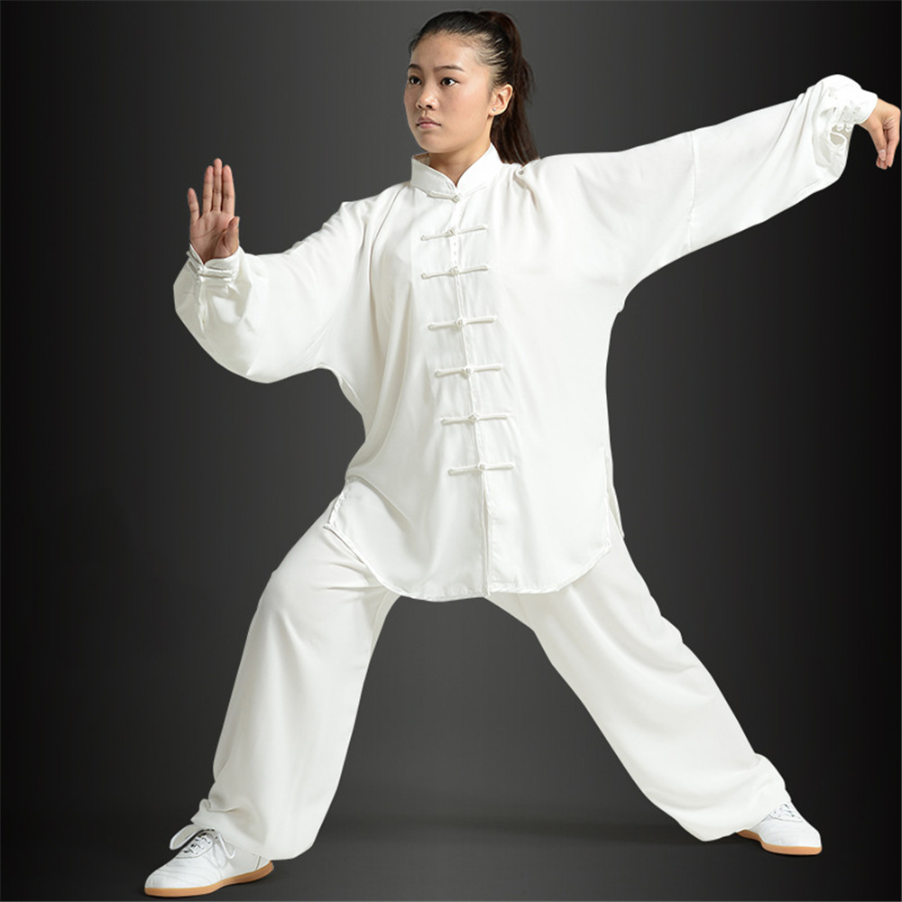 Tai Chi Suit Kung Fu Martial Arts Soft Uniform For Outdoor Loose Unisex