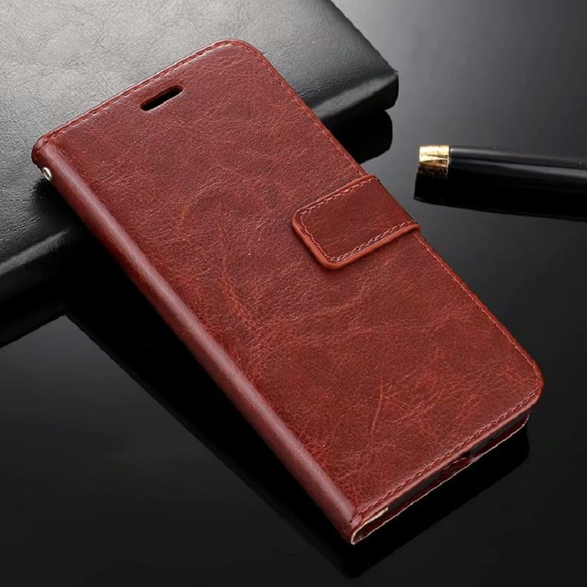 imitation leather Flip Wallet Business Phone Case Cover For Xiaomi Redm 7 6 5 4 note 3 4 5 7 K20 in Wallet Cases from Cellphones Telecommunications