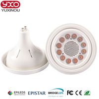 1PCS GU10 Base 12x2W AC 85 265V 20W 24W LED AR111 GU10 Light Bulb Epistar Led