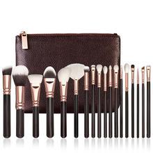 Buy Hot Best Deal 18 pcs Rose Gold Makeup Brush Complete Eye Set Tools Powder Blending Brush  Nov.17