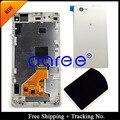 Для Sony Xperia Z1 жк-мини Z1 компактный жк-дисплей сенсорный экран планшета для сборки рамок + задняя крышка - белый