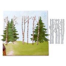 Julyarts Tree Background Metal Cutting Craft Dies Scrapbooking for DIY Paper Cards Embellishments Decor
